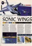 Scan of the preview of Aero Fighters Assault published in the magazine 64 Magazine 05