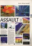 Scan of the preview of Aero Fighters Assault published in the magazine 64 Magazine 05, page 2
