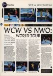 Scan of the preview of WCW vs. NWO: World Tour published in the magazine 64 Magazine 05