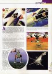 Scan of the preview of Lylat Wars published in the magazine 64 Extreme 2