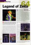 Scan of the preview of The Legend Of Zelda: Ocarina Of Time published in the magazine 64 Extreme 2