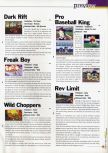 Scan of the preview of Rev Limit published in the magazine 64 Extreme 2