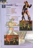 Scan of the walkthrough of Killer Instinct Gold published in the magazine 64 Extreme 3, page 5