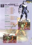 Scan of the walkthrough of Killer Instinct Gold published in the magazine 64 Extreme 3, page 6