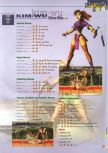 Scan of the walkthrough of Killer Instinct Gold published in the magazine 64 Extreme 3, page 8