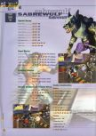 Scan of the walkthrough of Killer Instinct Gold published in the magazine 64 Extreme 3, page 9