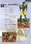 Scan of the walkthrough of Killer Instinct Gold published in the magazine 64 Extreme 3, page 10