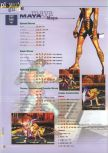 Scan of the walkthrough of Killer Instinct Gold published in the magazine 64 Extreme 3, page 11