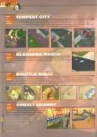 Scan of the walkthrough of Blast Corps published in the magazine 64 Extreme 3, page 6
