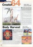 Scan of the preview of Body Harvest published in the magazine 64 Extreme 3