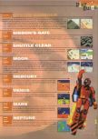 Scan of the walkthrough of Blast Corps published in the magazine 64 Extreme 4, page 3