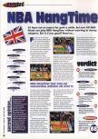 Scan of the review of NBA Hangtime published in the magazine 64 Extreme 8, page 1