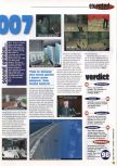 Scan of the review of Goldeneye 007 published in the magazine 64 Extreme 8