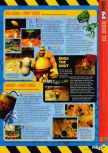 Scan of the walkthrough of Conker's Bad Fur Day published in the magazine N64 55