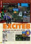 Scan du test de Excitebike 64 paru dans le magazine N64 56