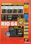 Scan of the review of Dr. Mario 64 published in the magazine N64 56, page 2