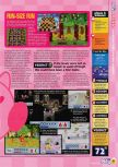 Scan du test de Kirby 64: The Crystal Shards paru dans le magazine N64 57