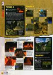 Scan of the walkthrough of Indiana Jones and the Infernal Machine published in the magazine N64 57, page 3