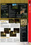 Scan of the walkthrough of Indiana Jones and the Infernal Machine published in the magazine N64 57, page 4