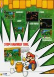 Scan of the review of Paper Mario published in the magazine N64 58, page 3