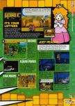 Scan of the review of Paper Mario published in the magazine N64 58, page 4