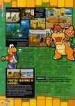 Scan of the review of Paper Mario published in the magazine N64 58, page 5