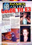 Scan of the article Guide to E3 1998 published in the magazine Games Master 71, page 2