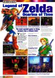 Scan of the article Guide to E3 1998 published in the magazine Games Master 71, page 4