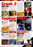 Scan of the article Guide to E3 1998 published in the magazine Games Master 71, page 7