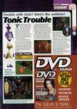 Scan of the preview of Tonic Trouble published in the magazine 64 Magazine 29