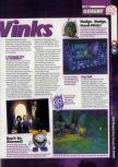 Scan of the preview of 40 Winks published in the magazine 64 Magazine 29