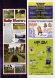 Scan of the preview of Rally Masters published in the magazine 64 Magazine 29