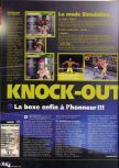 Scan of the review of Knockout Kings 2000 published in the magazine X64 23