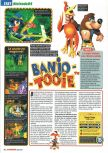 Scan of the review of Banjo-Tooie published in the magazine Screen Fun 07