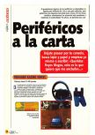Scan of the article Periféricos a la carta published in the magazine Magazine 64 01, page 1