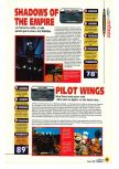 Scan of the review of Pilotwings 64 published in the magazine Magazine 64 01
