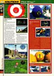 Scan of the walkthrough of Pilotwings 64 published in the magazine 64 Solutions 2