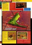 Scan of the walkthrough of Wave Race 64 published in the magazine 64 Solutions 02, page 3