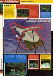 Scan of the walkthrough of Wave Race 64 published in the magazine 64 Solutions 02, page 5
