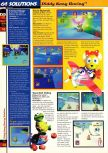 Scan of the walkthrough of  published in the magazine 64 Solutions 02, page 5
