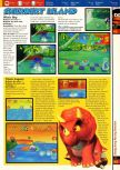 Scan of the walkthrough of Diddy Kong Racing published in the magazine 64 Solutions 2