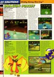 Scan of the walkthrough of  published in the magazine 64 Solutions 02, page 9