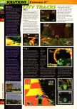Scan of the walkthrough of Extreme-G published in the magazine 64 Solutions 02, page 3