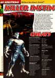 Scan of the walkthrough of Killer Instinct Gold published in the magazine 64 Solutions 02, page 1