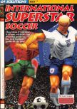 Scan of the walkthrough of International Superstar Soccer 64 published in the magazine 64 Solutions 03, page 1