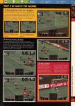 Scan of the walkthrough of International Superstar Soccer 64 published in the magazine 64 Solutions 03, page 2