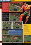 Scan of the walkthrough of International Superstar Soccer 64 published in the magazine 64 Solutions 03, page 3