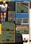 Scan of the walkthrough of International Superstar Soccer 64 published in the magazine 64 Solutions 03, page 4