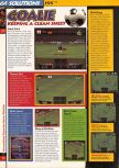 Scan of the walkthrough of International Superstar Soccer 64 published in the magazine 64 Solutions 03, page 5
