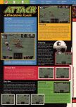 Scan of the walkthrough of International Superstar Soccer 64 published in the magazine 64 Solutions 03, page 6